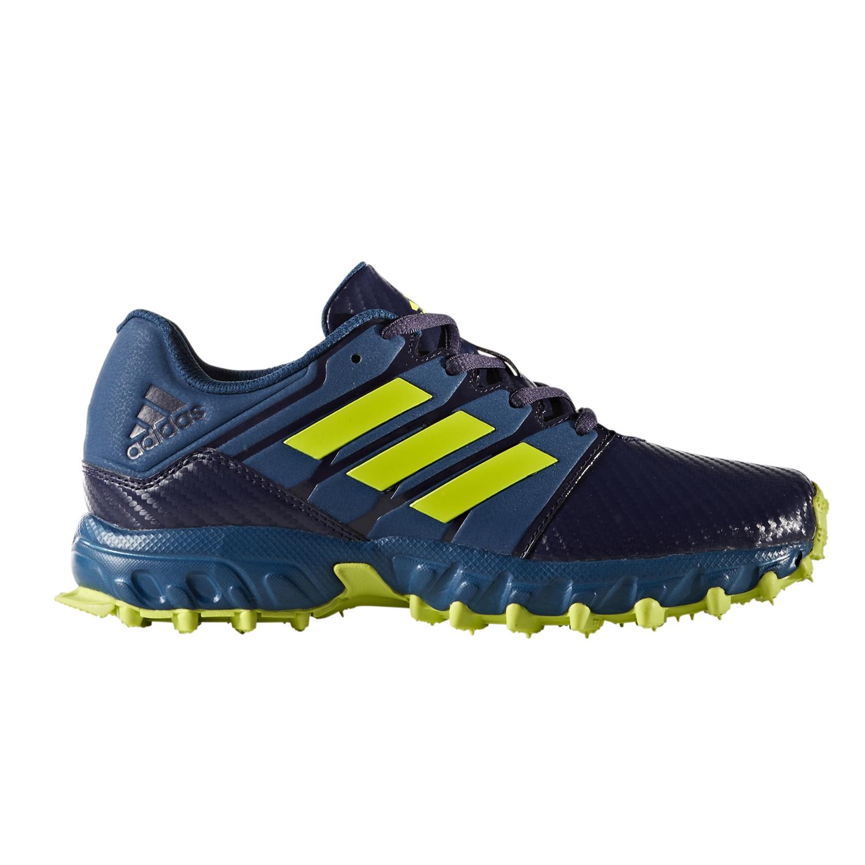 c9e86fb922f Adidas Hockey Lux Junior Shoes- Blue Yellow