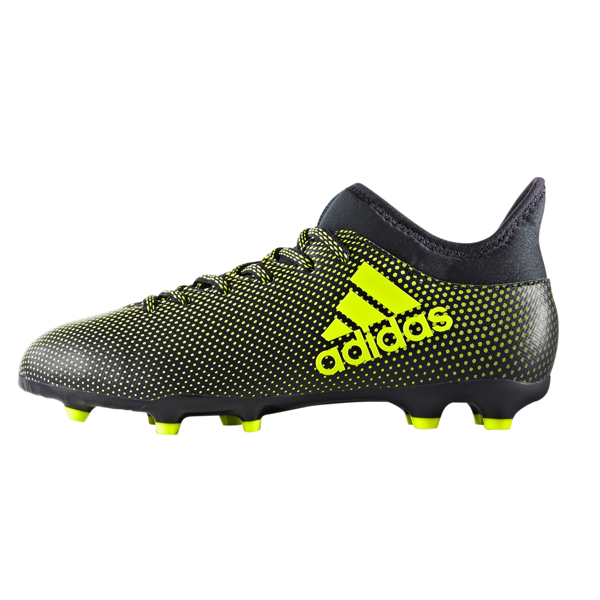 Adidas Men 's X17 3 FG Football Boots Ink/Yellow B074QMYJWW