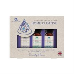Aroma Home Essential Oils Home Cleanse Dropper Set