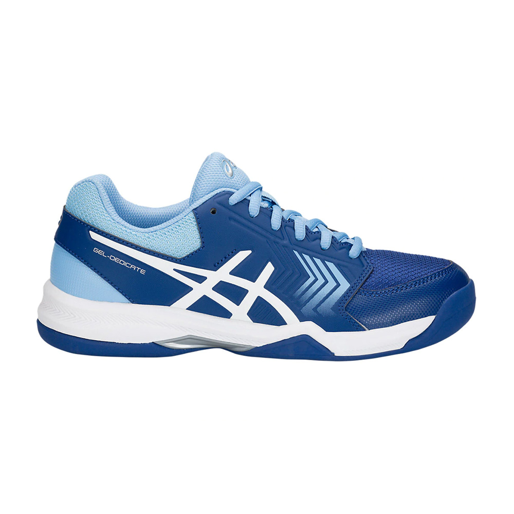 d75969c0b876 Asics Men s Gel-Dedicate 5 Indoor Tennis Shoes - Illusion Blue ...