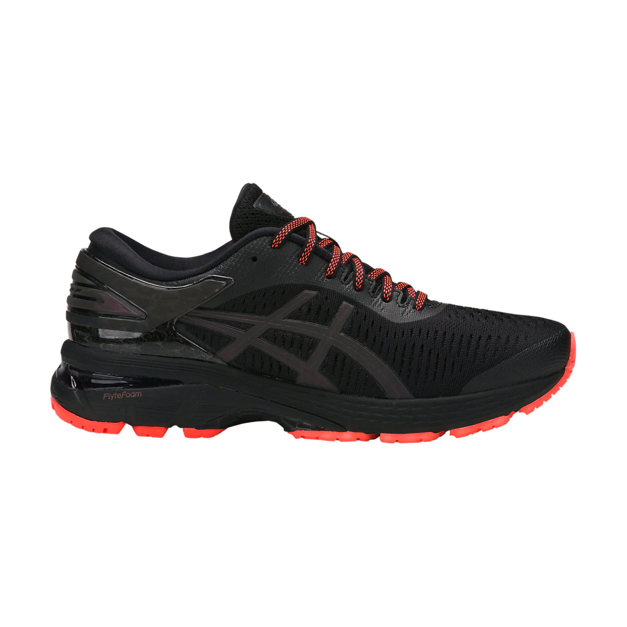 2bb696006e68 Asics Women s Gel-Kayano 25 Lite Show Running Shoe- Black