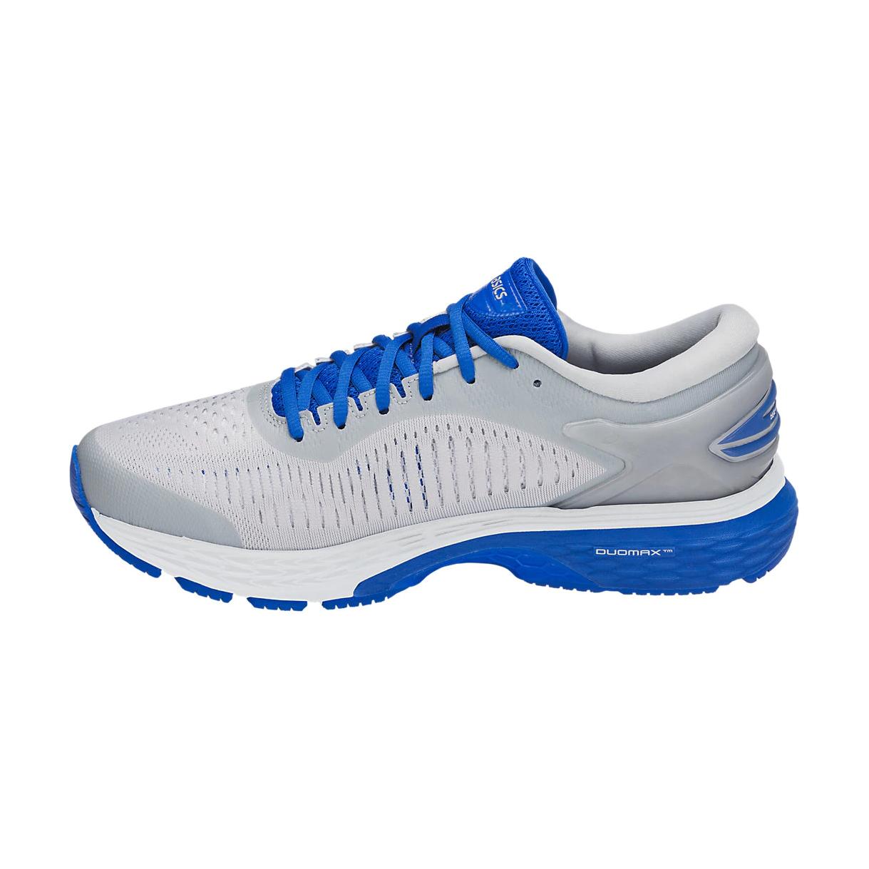 73c4e50bad Asics Men's Gel-Kayano 25 Lite Show Running Shoe - Mid Grey/Illusion Blue