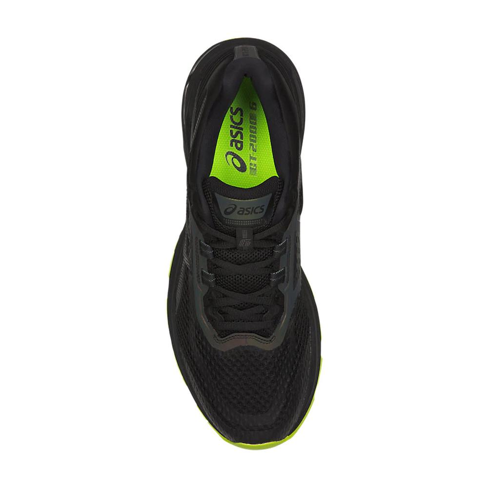 31476e0fc7 Asics Men's GT-2000 6 Running Shoes- Black | Men's Running Shoes ...