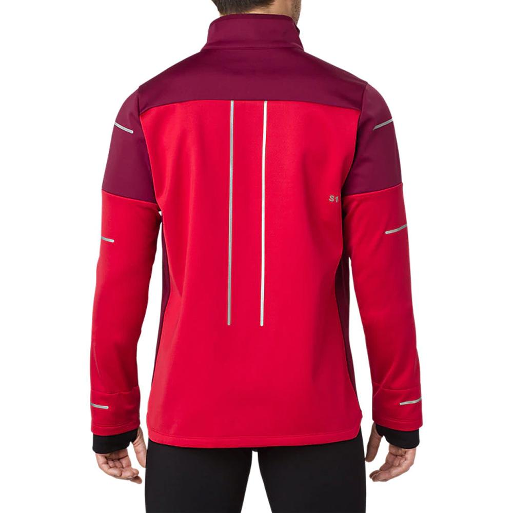 453143e86 Asics Men's Lite-Show Winter Running Jacket- Samba | Mens Running ...