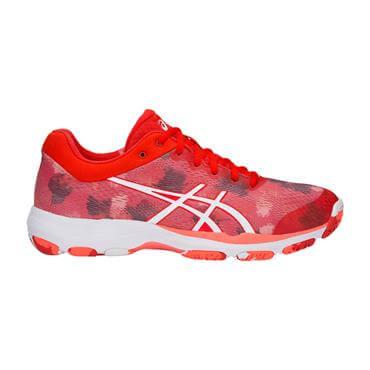 los angeles fe61d 02619 ... Asics Women s Net Burner Professional FF Netball Shoes - Fiery Red