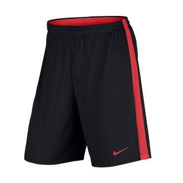 Nike Men s Dry Academy Football Short- Black Crimson 68f71953a415c