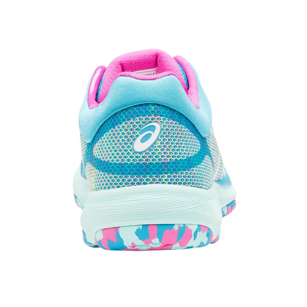 Asics Shoe Femmes Netburner FF Shoe   Island Bleu Femmes   d9e5f88 - trumpfacts.website