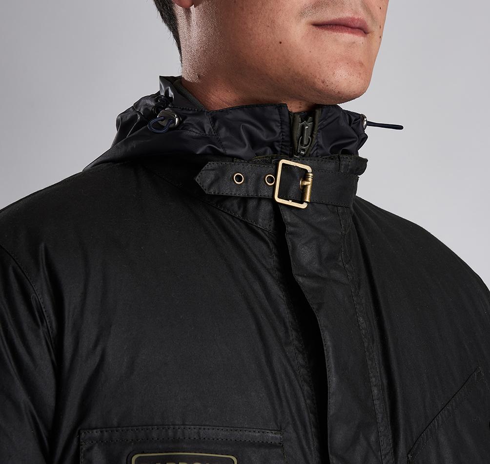 c68db30d59 Barbour International Lever Wax Jacket | Coats & Jackets | Coats ...