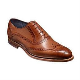 Barker Valiant Brogue Shoe, Brown