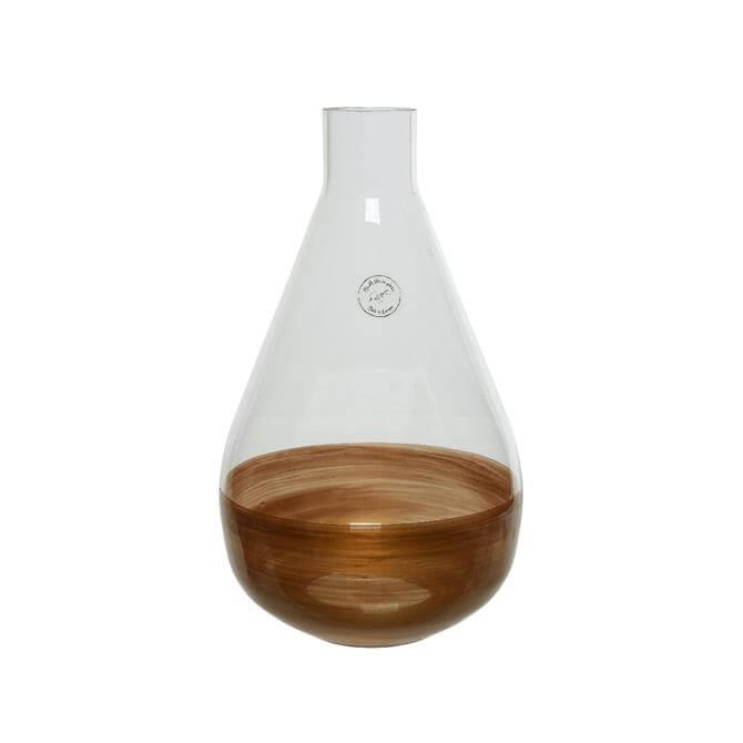 Kaemingk Vase With Golden Rim