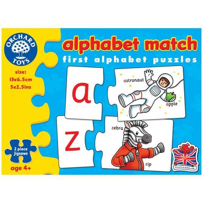 Orchard Alphabet Match Game