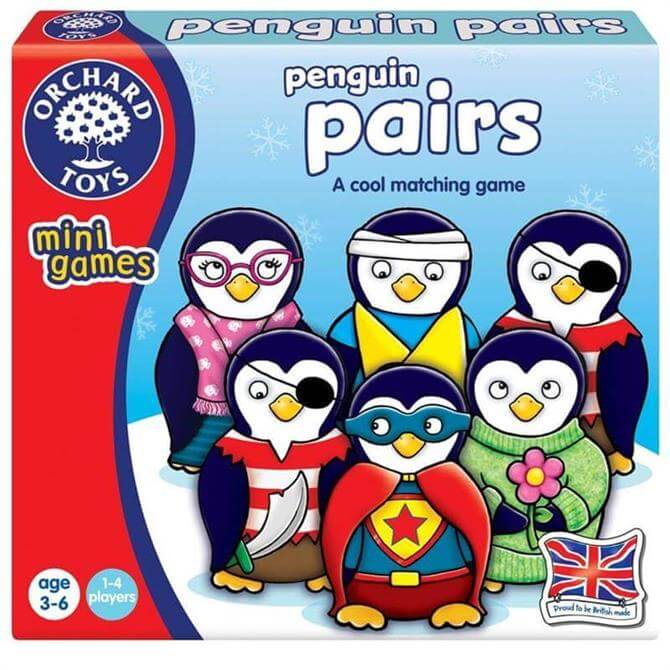 Orchard Penguin Pairs Game