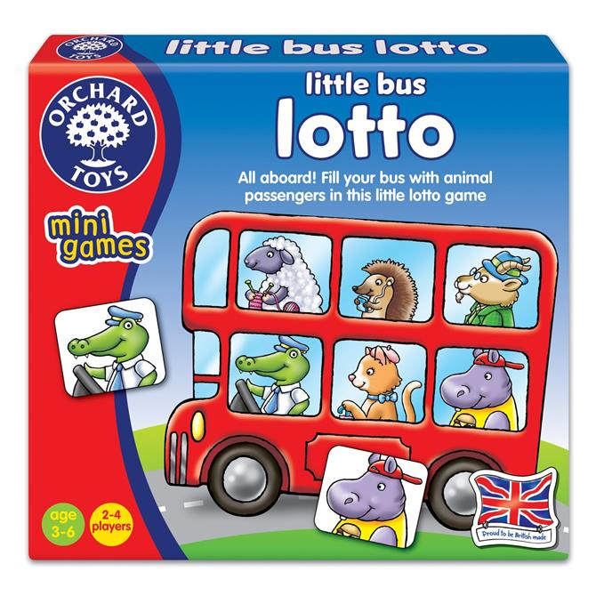 Orchard Little Bus Lotto Game