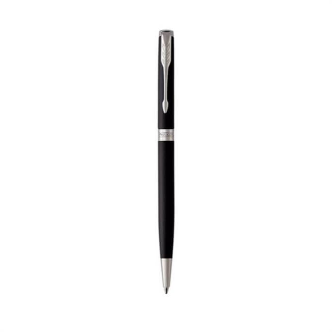 Parker Sonnet Matte Black & Chrome Slim Ballpoint Pen