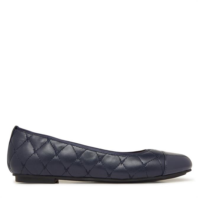Vionic Spark Desiree Quilted Navy Pumps