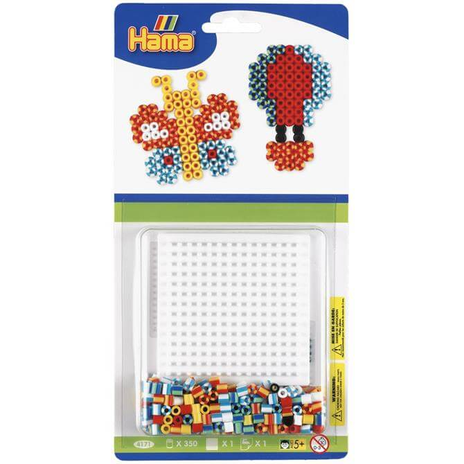 Hama Striped Butterfly Starter Kit