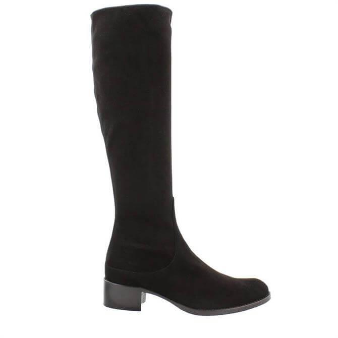 Carl Scarpa Eliza Boots Black Suede