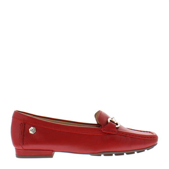 Carl Scarpa Beila Loafers Red