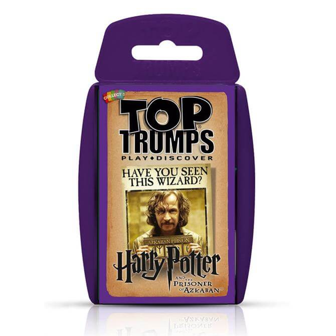 Winning Moves Top Trumps Harry Potter And The Prisoner Of Azkaban