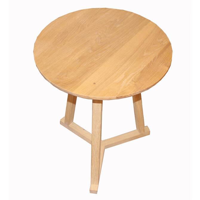 Tripod Solid Oak Table