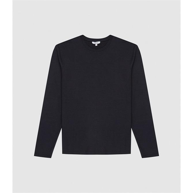 REISS ARMSTRONG Crew Neck Jersey Top