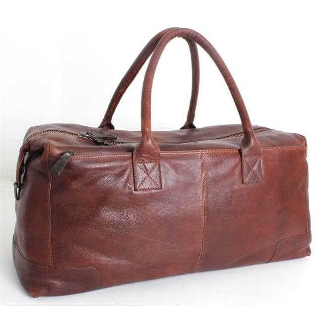Fonz Leather Holdall