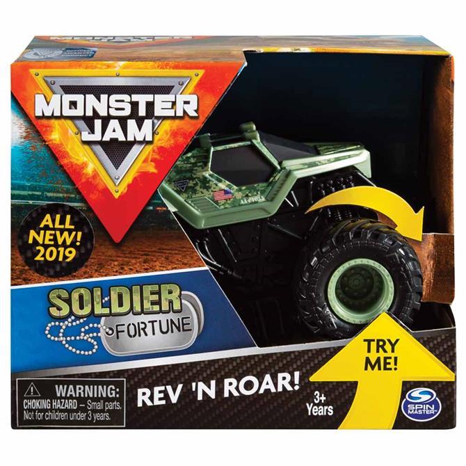 Spin Monster Jam Rev Roar Trucks