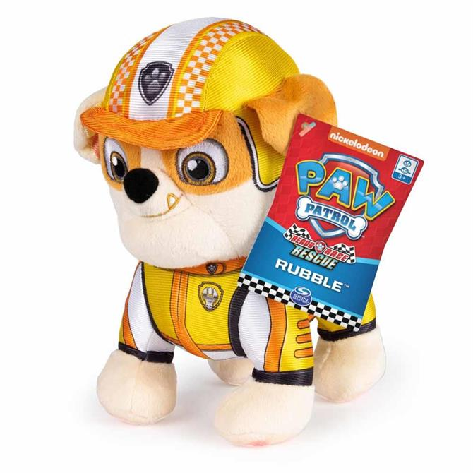 SpinMaster Paw Patrol Ready Race Rescue Pup Plush ASSORTED