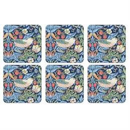 Pimpernel Morris and Co Strawberry Thief Coasters