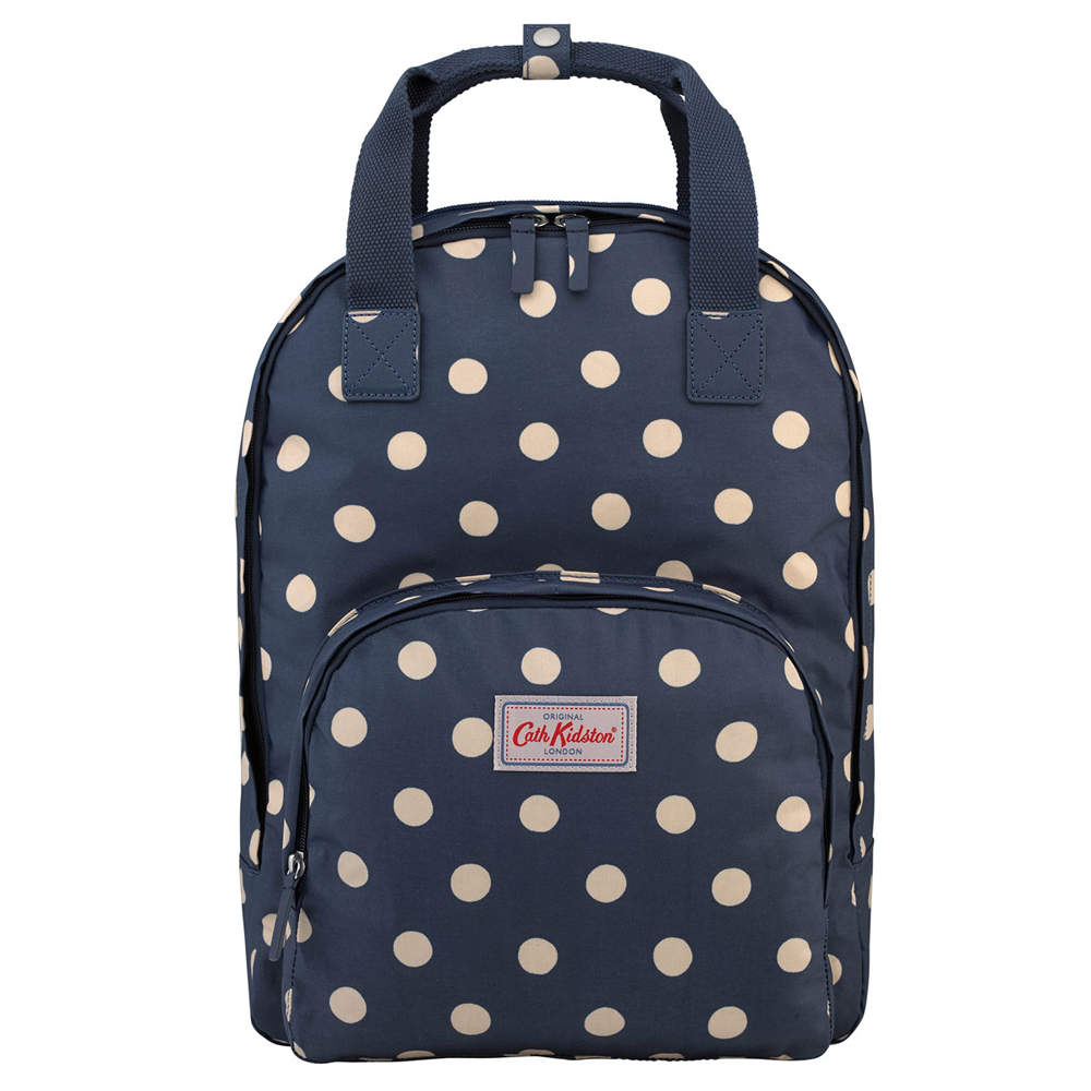 cath kidston button spot multi pocket backpack jarrold. Black Bedroom Furniture Sets. Home Design Ideas