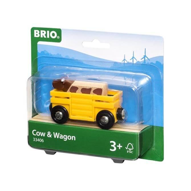 Brio Cow Wagon