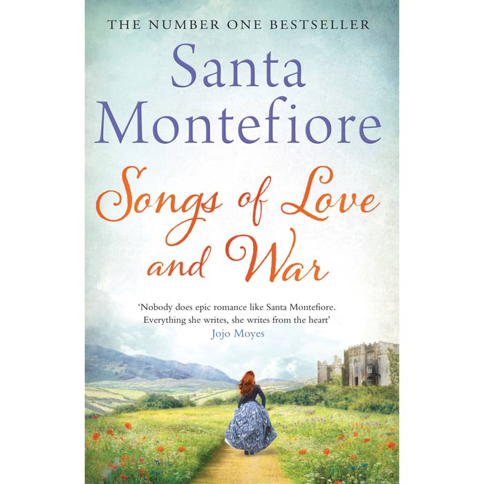 Songs Of Love And War By Santa Montefiore Hardback Jarrold Norwich