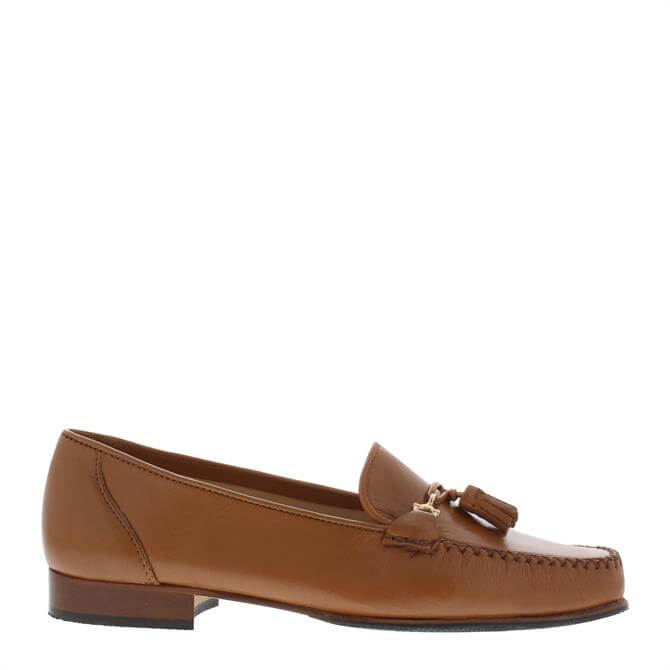 Carl Scarpa Frida Loafers Tan