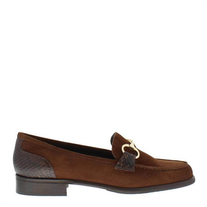 Carl Scarpa Sabana Loafers Brown Suede