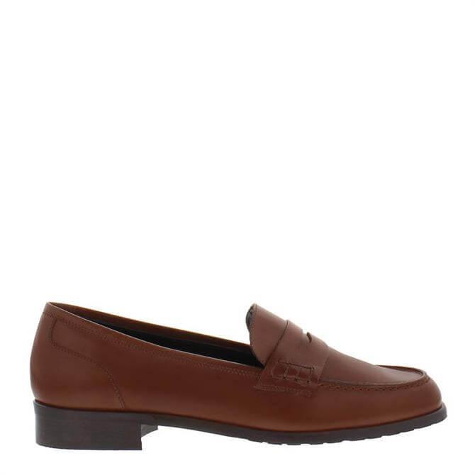 Carl Scarpa Selia Loafers Tan Leather