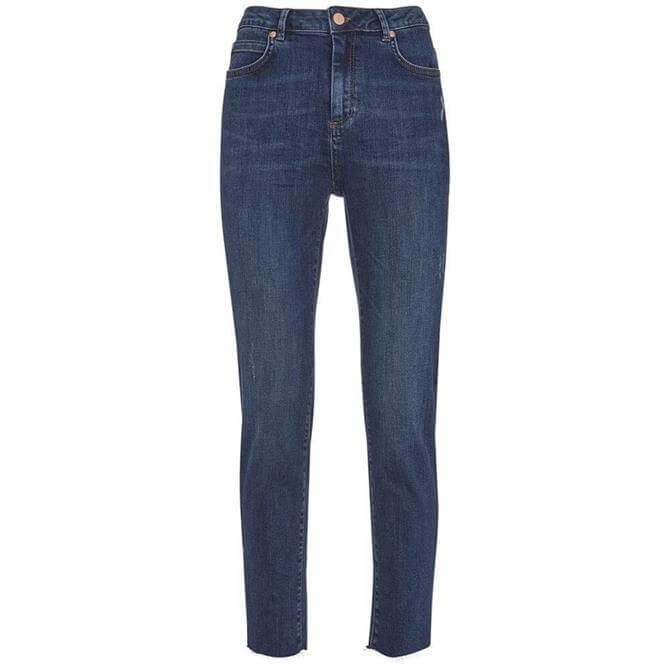Mint Velvet Houston Indigo Distressed Skinny Jean
