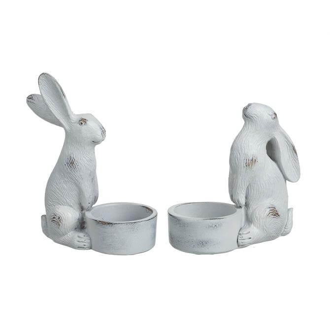 Parlane Tealight Holder Hare Assorted