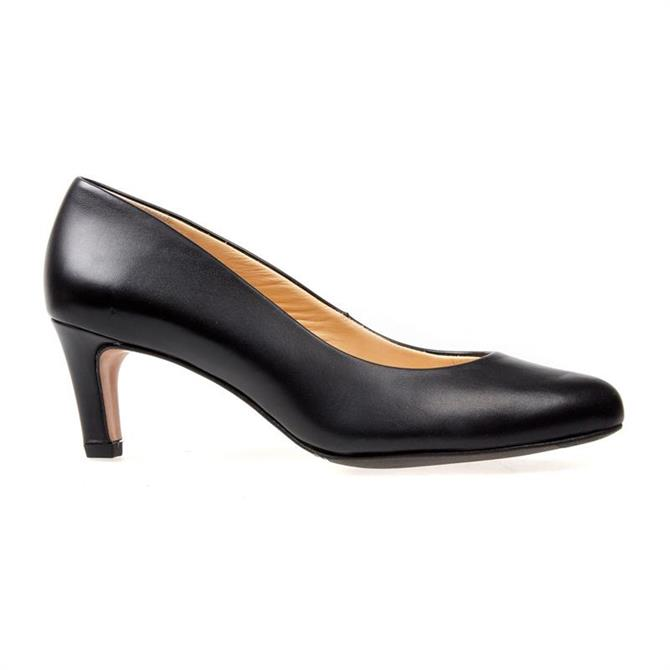 VanDal Ladies Linden Black Court Shoe