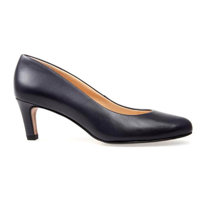 VanDal Ladies Linden Navy Court Shoe