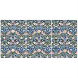 Pimpernel Morris and Co Strawberry Thief Placemat Set