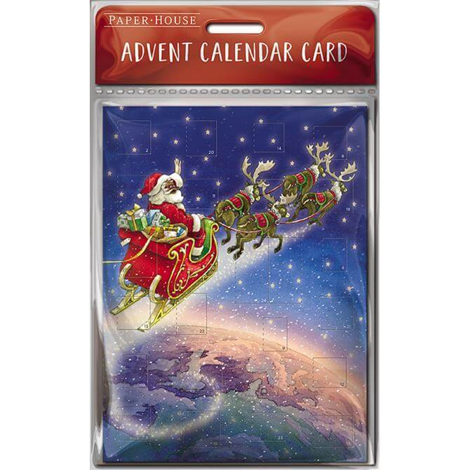 All Over The World Advent Calender Card