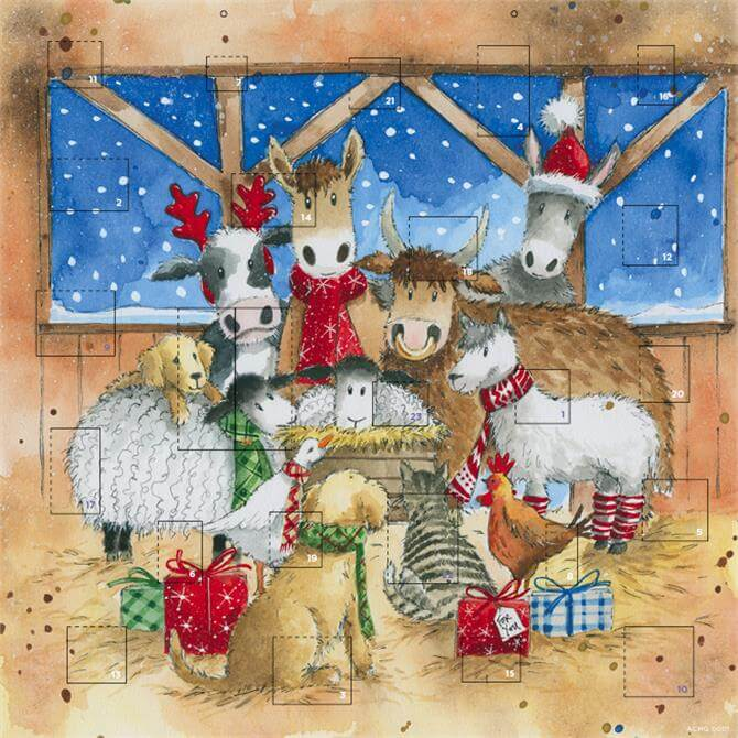 Stable Friends Advent Calender