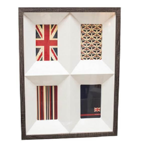 Bright Ideas 4-Picture Wooden Photo Frame | Photo & Picture Frames ...