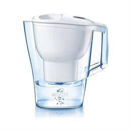 Brita Aluna Frosted White Water Filter Jug