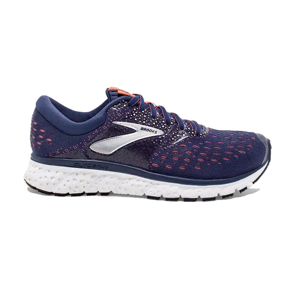01b39788b811f Brooks Women s Glycerin 16 Running Shoe- Navy Coral White