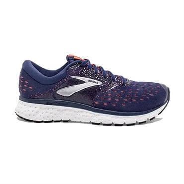 11568a056eda2 ... Brooks Women s Glycerin 16 Running Shoe- Navy Coral White