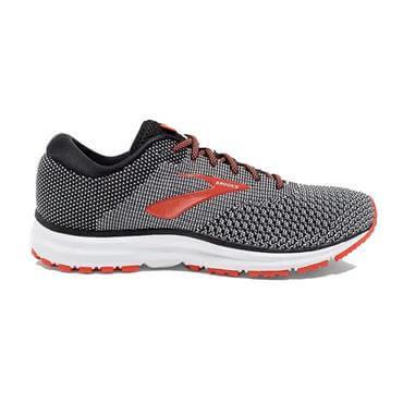 a45c8ef0fe7 ... Brooks Men s Revel 2 Running Shoe- Black Orange