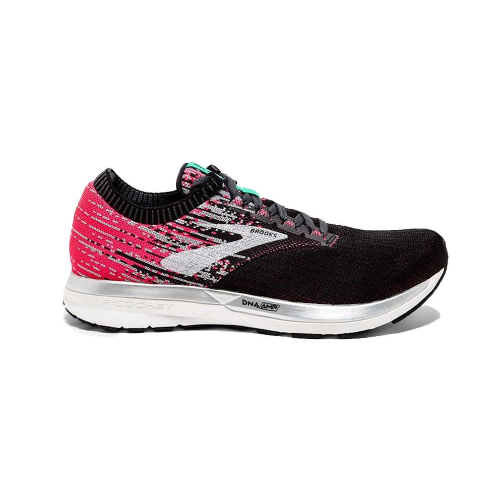 899b92ec341 Brooks Women s Ricochet Running Shoes- Pink Aqua