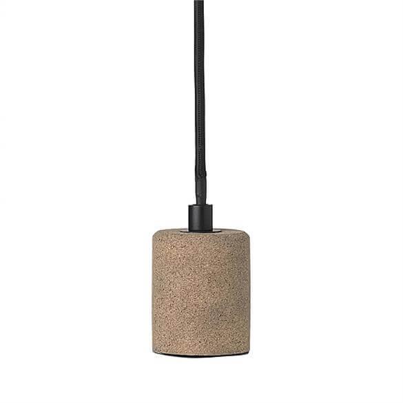 Broste Copenhagen Gerd Cork Metal Celling Lamp Lighting Lighting