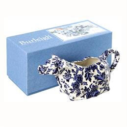 Burleigh Blue Cow Creamer Boxed